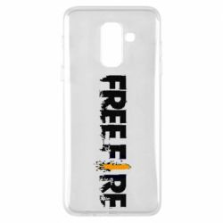 Чехол для Samsung A6+ 2018 Free Fire spray