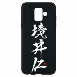 Чохол для Samsung A6 2018 Ghost Of Tsushima Hieroglyphs