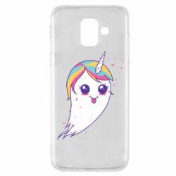 Чохол для Samsung A6 2018 Ghost Unicorn