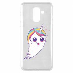 Чохол для Samsung A6+ 2018 Ghost Unicorn