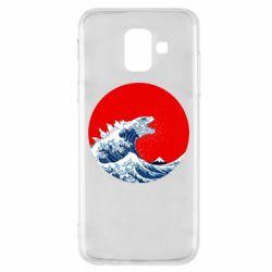 Чохол для Samsung A6 2018 Godzilla Wave