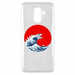 Чохол для Samsung A6+ 2018 Godzilla Wave