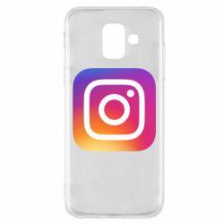Чохол для Samsung A6 2018 Instagram Logo Gradient