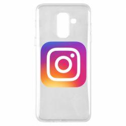 Чохол для Samsung A6+ 2018 Instagram Logo Gradient