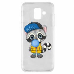 Чехол для Samsung A6 2018 Little raccoon