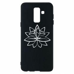 Чохол для Samsung A6+ 2018 Lotus yoga