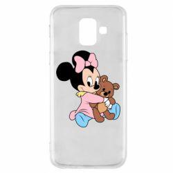 Чохол для Samsung A6 2018 Minnie And Bear