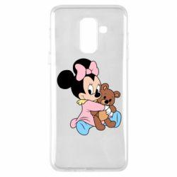 Чохол для Samsung A6+ 2018 Minnie And Bear