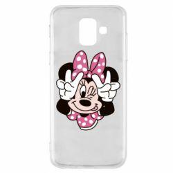 Чохол для Samsung A6 2018 Minnie Mouse