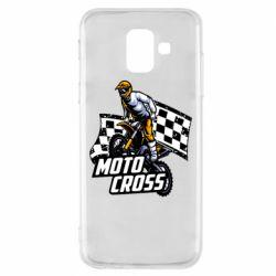 Чехол для Samsung A6 2018 Motocross