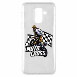 Чехол для Samsung A6+ 2018 Motocross