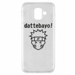 Чохол для Samsung A6 2018 Naruto dattebayo!