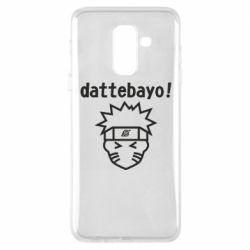 Чохол для Samsung A6+ 2018 Naruto dattebayo!