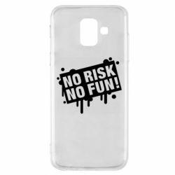 Чохол для Samsung A6 2018 No Risk No Fun