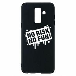 Чохол для Samsung A6+ 2018 No Risk No Fun