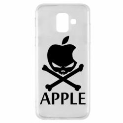 Чехол для Samsung A6 2018 Pirate Apple