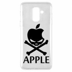 Чехол для Samsung A6+ 2018 Pirate Apple