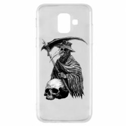 Чехол для Samsung A6 2018 Plague Doctor graphic arts