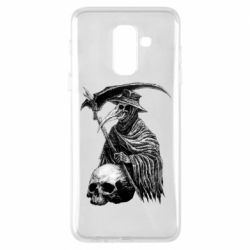 Чехол для Samsung A6+ 2018 Plague Doctor graphic arts