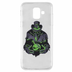 Чехол для Samsung A6 2018 Plague Doctor