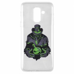 Чехол для Samsung A6+ 2018 Plague Doctor