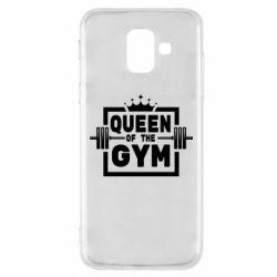 Чохол для Samsung A6 2018 Queen Of The Gym