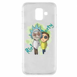 Чохол для Samsung A6 2018 Rick and Morty voodoo doll