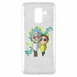 Чохол для Samsung A6+ 2018 Rick and Morty voodoo doll