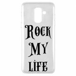 Чехол для Samsung A6+ 2018 Rock my life