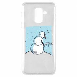Чохол для Samsung A6+ 2018 Snowman. It's Cold!