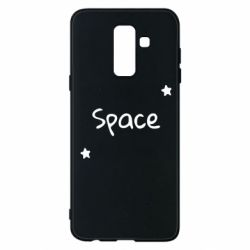 Чохол для Samsung A6+ 2018 Space: Letters and Stars Print