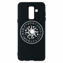 Чохол для Samsung A6+ 2018 Sun in runes