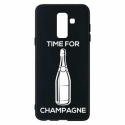 Чохол для Samsung A6+ 2018 Time for champagne