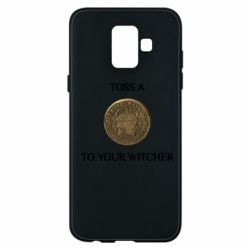 Чохол для Samsung A6 2018 Toss a coin to your witcher ( орен )