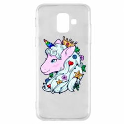 Чохол для Samsung A6 2018 Unicorn Princess