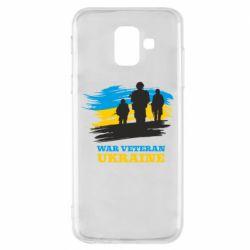 Чохол для Samsung A6 2018 War veteran оf Ukraine