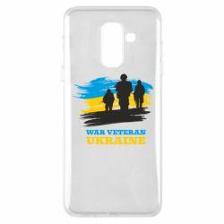 Чохол для Samsung A6+ 2018 War veteran оf Ukraine