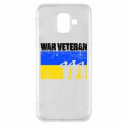 Чохол для Samsung A6 2018 War veteran