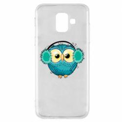 Чехол для Samsung A6 2018 Winter owl