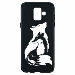 Чехол для Samsung A6 2018 Wolf And Fox