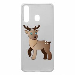Чехол для Samsung A60 Cartoon deer