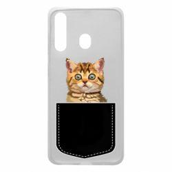Чехол для Samsung A60 Cat in your pocket