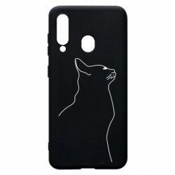 Чохол для Samsung A60 Cat line