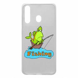 Чехол для Samsung A60 Fish Fishing