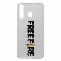 Чехол для Samsung A60 Free Fire spray