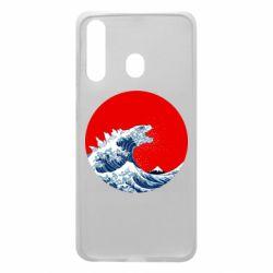 Чохол для Samsung A60 Godzilla Wave