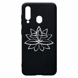 Чохол для Samsung A60 Lotus yoga