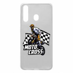 Чехол для Samsung A60 Motocross