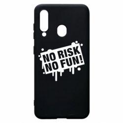 Чохол для Samsung A60 No Risk No Fun