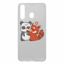 Чохол для Samsung A60 Panda and fire panda